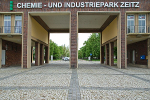 Zeitz Chemical and Industrial Park, main gate© MDM / Konstanze Wendt