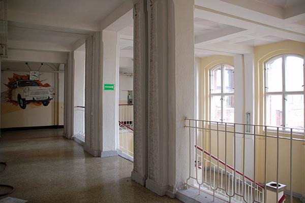 Altbau, Flur Und Haupttreppenhaus Im 1. Obergeschoss© MDM / Konstanze Wendt